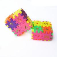 Free Shipping EMS Wholesale Children Blocks 100bags/LOT Kids Plastic Toys Blocks For Baby Gift