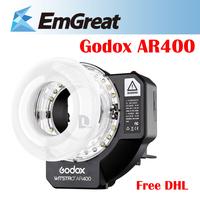 Godox Witstro AR400 400Ws 5600K 1/10000s HSS 2 in 1 Powerful Ring Flash Video Light Speedlite Speedlight for Canon Nikon Cameras
