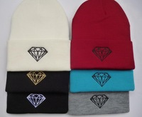 DIAMOND SUPPLY CO Men winter Beanie Hats Hip-Hop wool Cotton knitted warm caps Snapback hat for man and women 1pcs