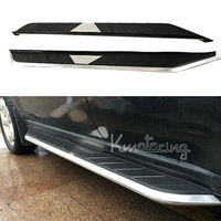 A pair of Running Boards For Jeep Grand Cherokee 2011,2012,2013, 2014 Nerf Bars Side Step Tubes Aluminum 65.2 inch