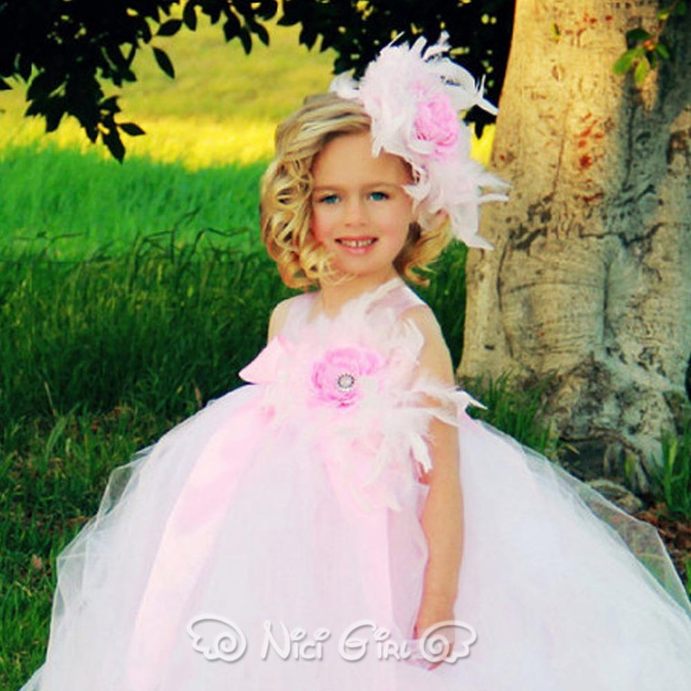 Flower girls princess wedding dress cosplay communion tutu ball gown