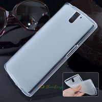 Ultra slim Silicone Matte Transparent Soft Gel TPU Back Cover Case  For OnePlus one