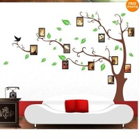 803 large explosions Brown photos around tree DIY posted his photo oil painting style wall stickers manufacturers