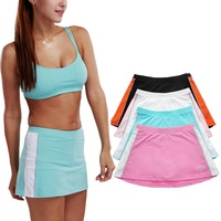 Brand New Women's Sport Skort With Attached Shorts Tennis Athletic Skirt Skort XS S M L XL