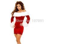 Performance clothing Women's Cosplays costumes Christmas uniform nightclub party club Demon Queen Barbi 5 pcs