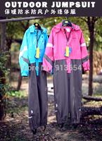 new 2014 autumn winter Rompers children clothing baby boy outdoor waterproof coat baby girls overall children windproof jumpsuit