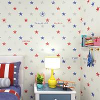 Classic Star Boys Bedroom   Wallpaper zk06 Baby Boy Room Decoration  infantil papel de parede  para quarto Lovly Baby Room Kids