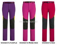 Fashion Brand, Men's&Women's Waterproof sports pants, Professional outdoor trousers, Couple Climbing pants, Fleece liner