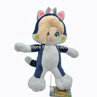 "Free Shipping Super Mario Bros 3D WORLD Cat Rosalina Rozetta Plush Doll 9"""