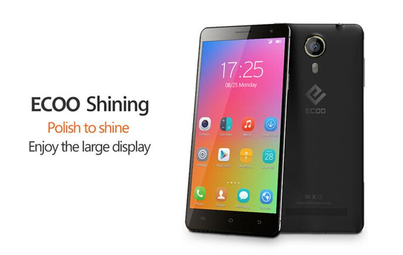Cheap Octa Core Phone 5.5 inch ECOO Shining E02 E02 Pro 1GB RAM 8GB ROM Camera 13.0MP OTG 3G Android MTK6592 Phone(China (Mainland))