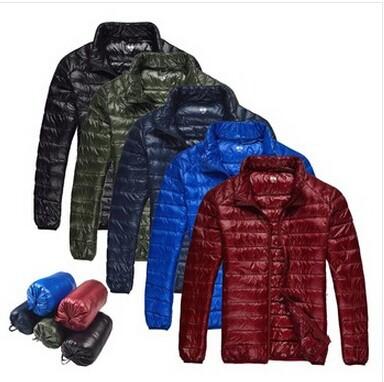 Ultra Light Duck Down Coat Winter Jacket Men Down-Jacket Parka Outdoor Quilted Mens Winter Jackets And Coats Jaqueta Masculina(China (Mainland))