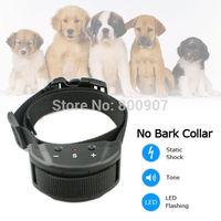 Pet Training Collar Auto Static Shock Anti No Bark Control Collar Dog Stop Bark PET853