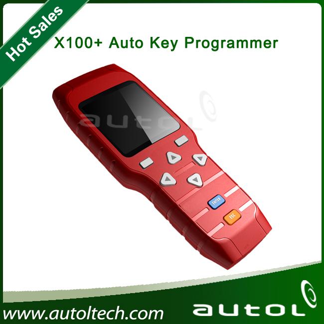 2014 nova Original X-100 + X100 além disso Auto chave programador programador X100 máquina programa chave do carro x 100 car dispositivo de programação chave(China (Mainland))