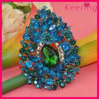 New Arrival Shiny Decorative Jewellery Rhinestone Brooches For Women WBR-1383