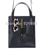 New Korean fashion personality retro design lady handbag shoulder bag literary versatility across body messenger bag 3 colors