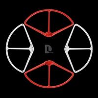 "2 Colors New DJI Phantom 2 Vision 9"" 9443 Propeller Prop Protector Protective Guard Bumper 4 pcs Free Shipping"