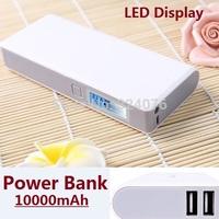 New Mobile Power Bank 10000mah powerbank portable charger external Battery 10000 mah mobile phone charger Backup powers