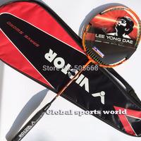 1 pc free shipping 4U VICTOR THURSTER K 15 Badminton Racket TK15 badminton racquet