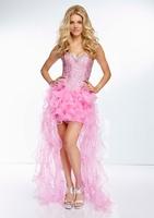 Sweetheart tulle cocktail dress debutante gowns bg_95069