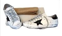 free shipping 2014 New Golden Goose Sneakers Superstar Men Women Low Cut Shoes Sneakers