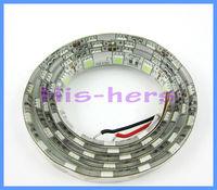 1pcX High quality !  1M Cool White(5500-7000K) LED flexible strip SMD 5050 Light LED Strip waterproof LED strip tape 12V DC