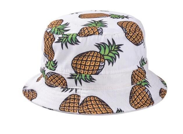 Bucket Hat Pink Pink Pineapple Bucket Hat