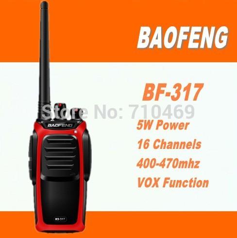DHL Freeship+10pcs Baofeng BF-317 5W high power UHF Handheld Radio walkie talkie 10km with long talk range for Ham,hotel,drivers(China (Mainland))