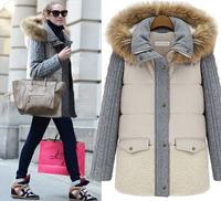new 2014 women coat new fashion women's slim wool blended bouble-breasted coat winter coat women woollen coat