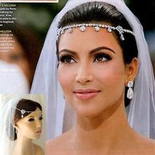 2014 New Fashion Romantic Wedding Bride Accessories Hair Jewelry For Women, Romantic Rhinestone Flower Headbands XLL017