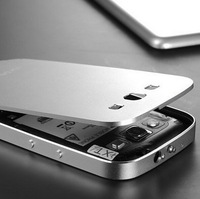 New Arrival Matting Metal Surface Aluminum Bumper Case For Samsung Galaxy S3 i9300 Ultrathin 8 colors 50 pcs/lot