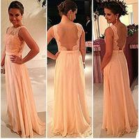 vestido de festa Women Summer Maxi long dress Chiffton Slim Dress Party Gowns Nude Lace Elegent Dresses