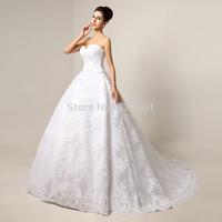 luxury sexy wedding dresses vestido de noiva real picture plus size lace wedding dress 2015 satin weddingdress wedding gown
