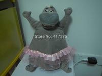 36cm Madagascar 3 Hippo Stuffed Animals Toys Plush Doll ,retails,small wedding toy,child gift