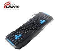 F11000 CARPO T101M Wired 113 Keys Gaming Keyboard USB Interface Desktop Laptop PC Accessories + FreePost