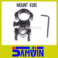 Free Shipping 25.4 mm Flashlight Laser Sight/Torch Ring Mounts Rail System Scope Monut