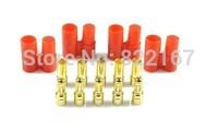 HXT 3.5MM Banana Bullet Connector Plugs & Housing Sets for RC Battery Lipo / ESC
