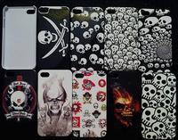 Halloween SaleTerror Ghost Skeleton Skull Design case for iphone 4/4s smart hard plastic back case 10 pcs/lot Drop Ship