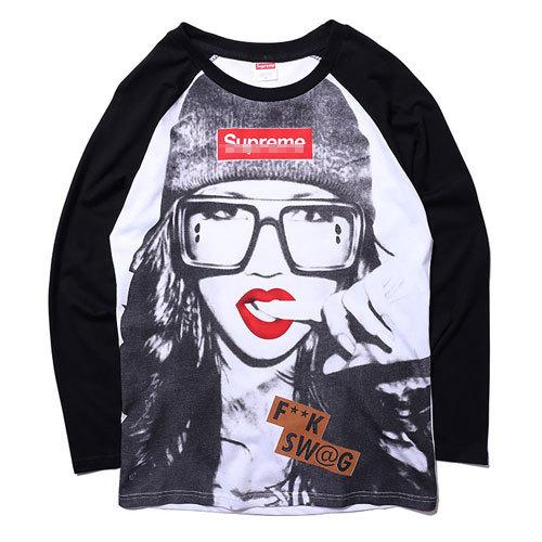 Swag Shirts For Girls Sexy Girl Raglan t Shirt