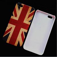Wholesale Retro Flag case for iphone 4s smart hard plastic back case for iphone 4 DHL Drop Ship 50 pcs/lot
