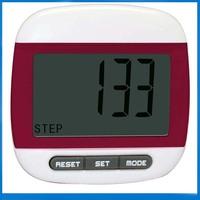 2D Big LCD  display Digital Step Pedometer Run Distance Calorie Walk Counter Pocket Clip free shipping