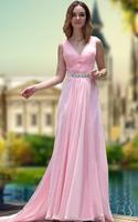 CJ0199 Latest Dress Designs One-shoulder Handmade Flower Beading Long Prom Dresses Formal Evening Gowns Vestido De Festa 2015