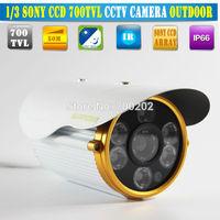Free shipping SONY CCD HD 700TVL cctv cam IR 80M cctv camera surveillance camera security camera vandalproof Outdoor camera
