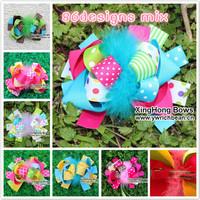 86 designs bows hair clips hair bows hair accessory ribbon bows children accessory clips children hair accessory   christmas bow