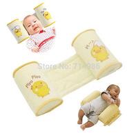 Cotton Anti-roll Safe Baby Pillow Infant Toddler Sleep Head Positioner &Sleeping Waist Bedding Set