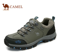 camel authentic outdoor autumn and winter hiking shoes men slip resistant hiking shoes to help low damping