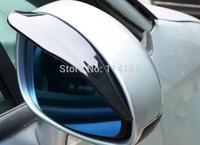 2pcs/pair car universal rain shade guard car rearview mirror rain shade car rain shield flexible peucine