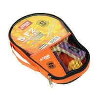 Beginner Table Tennis Racket PingPong Racket Kit Including 1 Horizontal Grip 1 Straight Grip 1 Table Tennis Ball Free Shipping