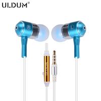 ULDUM Perfect Sound Brand Metal Headphone