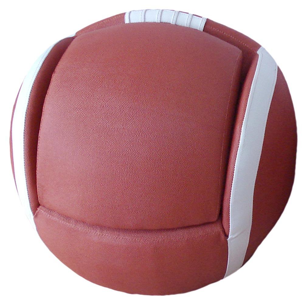 Kids Arm Chair Football Sports Style + Stowaway Ottoman BRAND NEW Brown & White Children sofa(China (Mainland))
