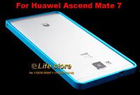 Aluminum Metal Bumper Buckle Bumper Frame Bumper for Huawei Ascend Mate 7